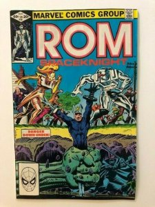 MARVEL ROM Spaceknight #28 Torpedo Mole Man VERY GOOD  (A55)