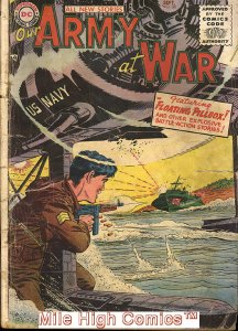 OUR ARMY AT WAR (1952 Series) #38 Very Good Comics Book