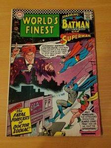 World's Finest Comics #160 ~ FINE FN ~ (1966, DC Comics)