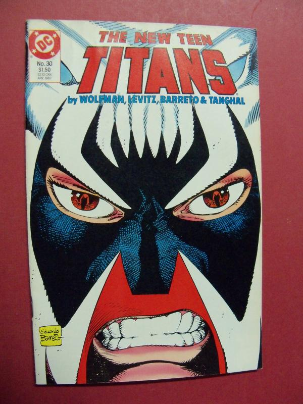 THE NEW TEEN TITANS  #30 VF/NM OR BETTER 1983 DC COMICS