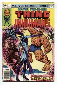 Marvel Two-In-One #72 1st full appearance of Deathurge vf