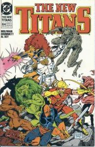 New Titans #64, NM- (Stock photo)