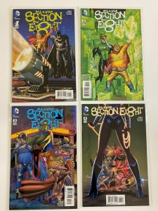 All Star Section 8 lot from:#1-4 DC 4 different books 8.0 VF (2015)