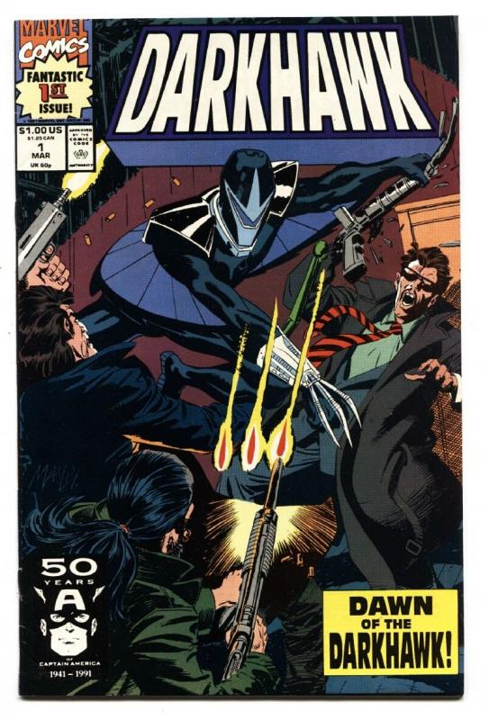 Darkhawk #1 1991 comic book first issue movie GOTG NM-