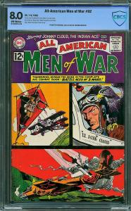 All-American Men of War #92 (DC, 1962) CBCS 8.0