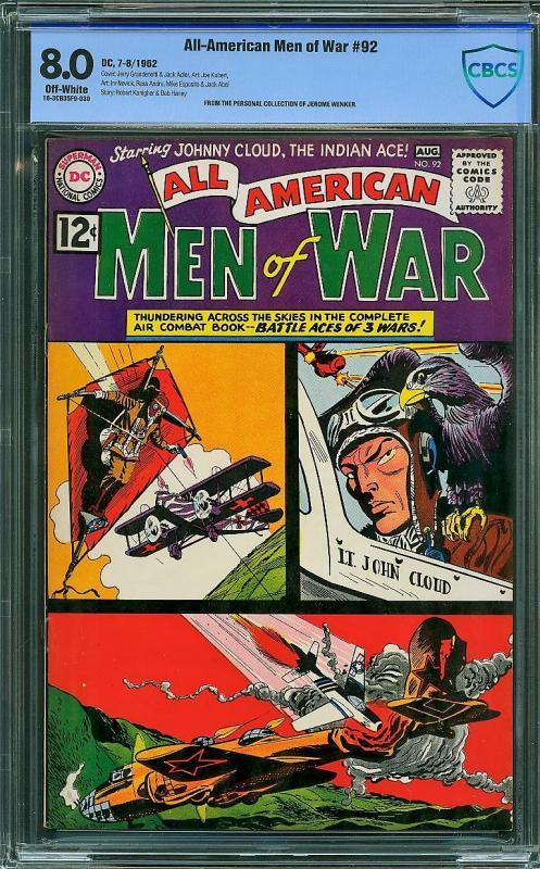 All-American Men of War #92 (DC, 1962) CBCS 8.0