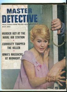 MASTER DETECTIVE-OCT/1962-MASSACRE-CURIOSITIES-QUEENS-MADNESS FR/G