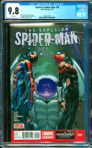 Surperior Spider-Man #29 CGC Graded 9.8