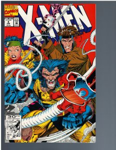 X-Men #4 (1992) - KEY 1st Omega Red