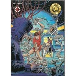 1993 Valiant Era MAGNUS ROBOT FIGHTER #19 - Card #20