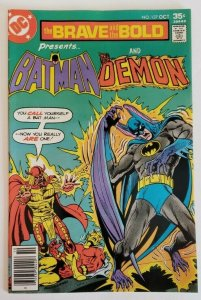 Brave and the Bold #137 (1977) VF+ Batman & The Demon