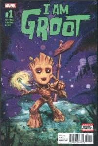 I am GROOT #1, NM, GUARDIANS of the GALAXY, 2017, more Marvel in store