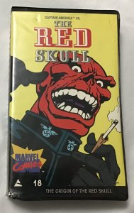 Marvel Comics Video Library VHS #18, 1985 The Origin of the Red Skull