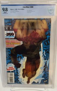 Iron Man #300 - CBCS 9.8 - NM/MT - White Pages - Collectors Edition