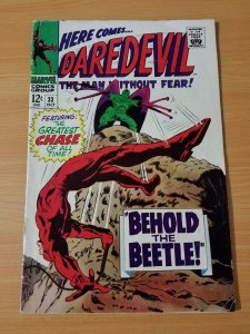 Daredevil #33 ~ FINE - VERY FINE VF ~ (1967, Marvel Comics)