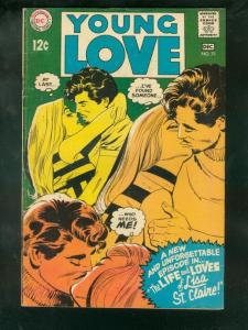 YOUNG LOVE #71 1968-DC ROMANCE VG