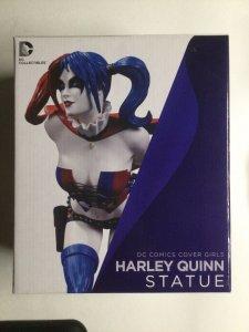 Harley Quinn Statue DC Comics Cover Girls Jack Matthews Collectible DC Comics