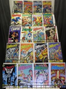 Indie Hero Teams  Mini-Library Lot 80Diff DNAgents Champions New Wave Next Men