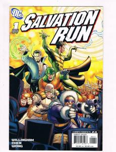 Salvation Run # 1 DC Comic Books Hi-Res Scans Awesome Issue Modern Age!!!!!! S17