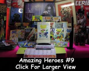 AMAZING HEROES 9 F-VF CAPTAIN ACTION HISTORY,SCOTT SHAW