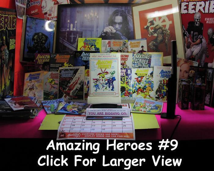 AMAZING HEROES 9 F-VF CAPTAIN ACTION HISTORY,SCOTT SHAW