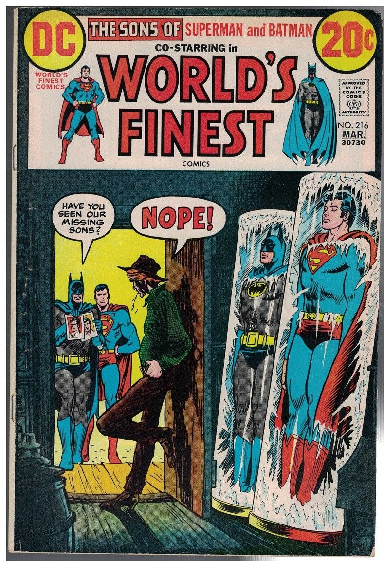 WORLDS FINEST 216 VG F Mar 1973 COMICS BOOK HipComic