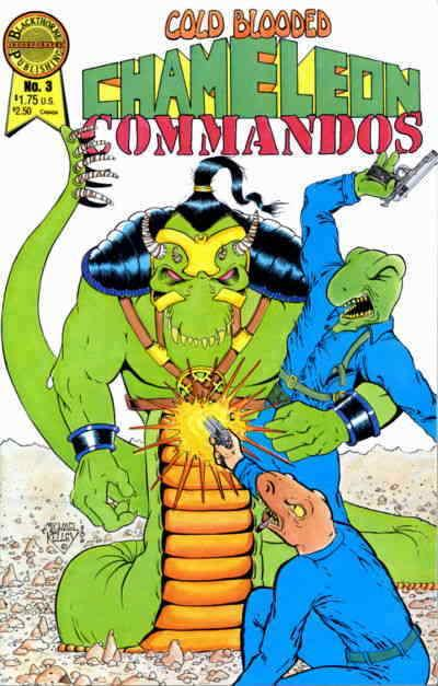 Cold-Blooded Chameleon Commandos #3 FN; Blackthorne | save on shipping - details