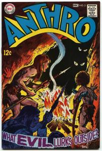 Anthro #3-DC HOWIE POST ART-DC-1968-NM