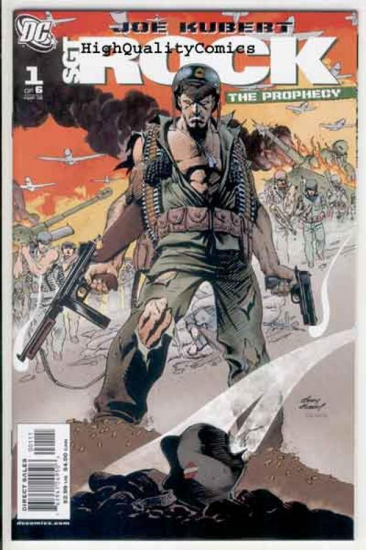 SGT ROCK ; PROPHECY #1 2 3 4 5 6, NM+, Joe Kubert, WWII, more War in store,  A
