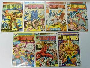 Champions, Set:#1-17 Missing:#3,11,14, Average 5.0 (Range 4.0-6.0) (1975)