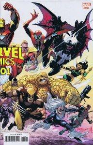 Marvel Comics #1001 2019 80th Anniversary Gleason Wraparound Variant Cover