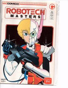 Comico Comics Robotech Masters #9 Dana Sterling