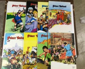 Prince Valiant Pacific Comics Club Oversize Treasury Editions Very Fine 1-8 P22