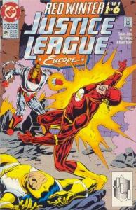 Justice League Europe #45, NM (Stock photo)