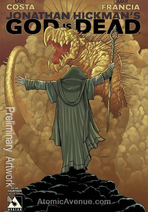 God Is Dead #14A VF/NM; Avatar | save on shipping - details inside