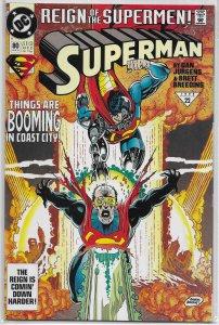 Superman   vol. 2   # 80 FN (Reign of the Supermen)
