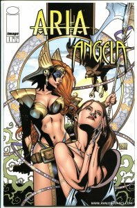 ARIA ANGELA #1, NM,  Jay Anacleto, Femme Fatale, 2000, more in store