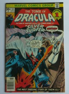 Tomb of Dracula #50 VF+ Silver Surfer Appearance Marvel Bronze Age Comic 1976