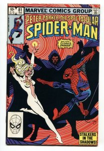 SPECTACULAR SPIDER-MAN #81 Cloak and Dagger-Punisher-comic book NM-