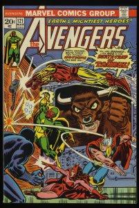 Avengers #121 VF+ 8.5 Marvel Comics Thor Captain America