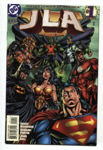 JLA #1-1st appearance of HYPERCLAN 1997 NM-