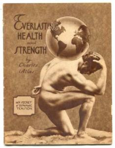 Everlasting Health and Strength by Charles Atlas 1941 beefcake