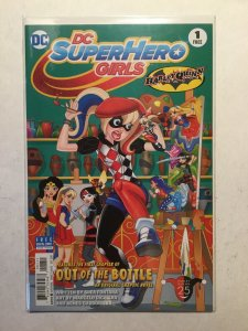Dc Super Hero Girls Batman Day Edition 1 Near Mint Nm Harley Quinn Dc Comics