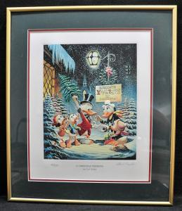 A Christmas Trimming by Carl Barks LTD to 595 - Signed
