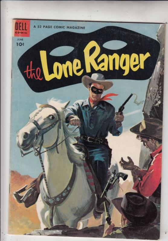 Lone Ranger, The #72 (Jun-54) VF/NM High-Grade The Lone Ranger, Tonto, Silver