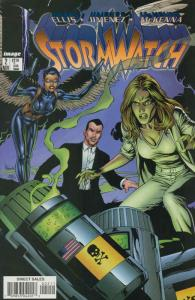 Stormwatch (2nd Series) #2 VF/NM; Image   save on shipping - details inside