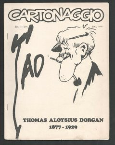 Cartoonaggio #7 1979-Bio and comic art history of TAD-Thomas A. Dorgan-Alfred...