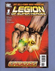 Legion of Super-Heroes #1 NM- DC 2010