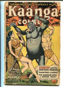 Kaanga #1 1949-Fiction House-1st issue-52 pages of Good Girl Art-FR