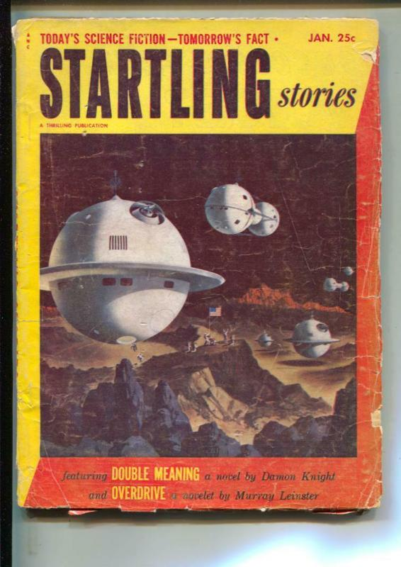 Startling Stories-Pulp-1/1953-Damon Knight-James E. Gunn